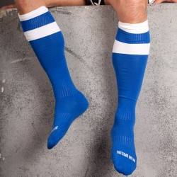 Barcode Berlin Football Socks blau / weiß