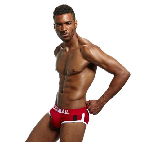PUSH UP BRIEF JOCKMAIL GABRIEL RED