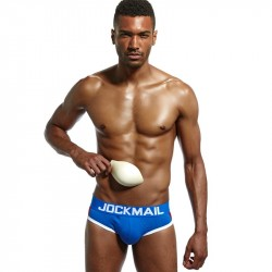 PUSH UP BRIEF JOCKMAIL FRANCO BLUE