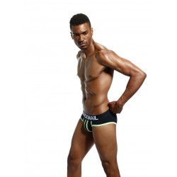 BRIEFS JOCKMAIL FARRUCO BLACK